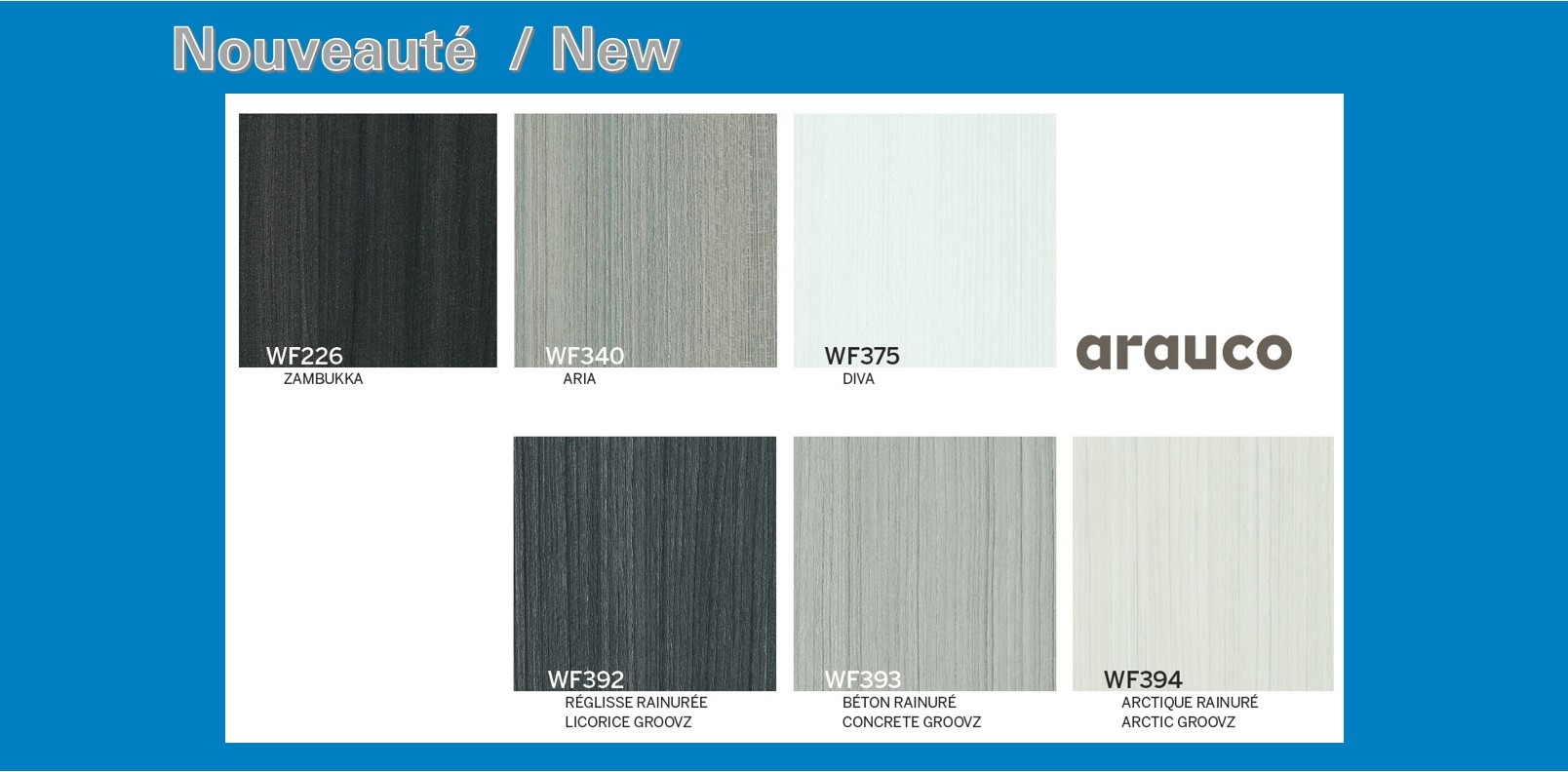 Arauco New Colours